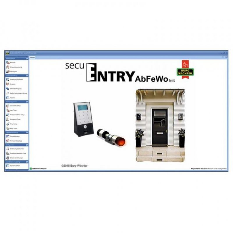 Software secuENTRY 7094 AbFeWo